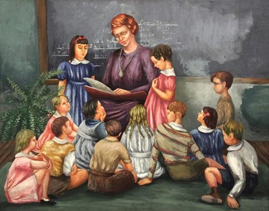 Garnet's First Grade Class