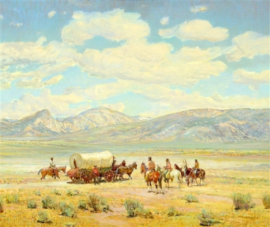 Homesteaders On Indian Land