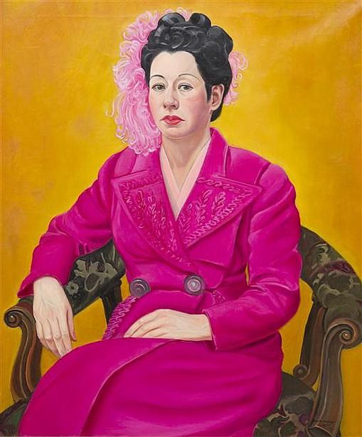 Rosanna (The Artist's Sister, Rosana Barton Nilles Opalenik)