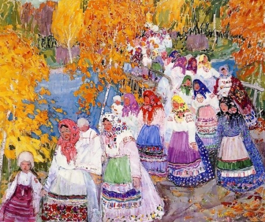 Russian Peasant Parade
