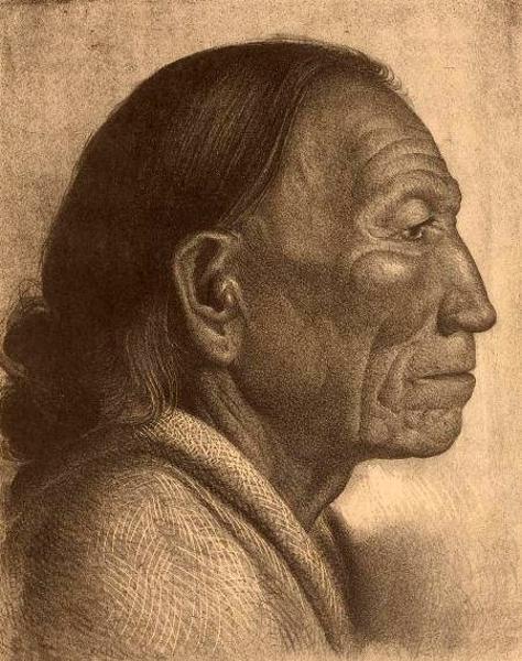 Santiago of Taos Pueblo