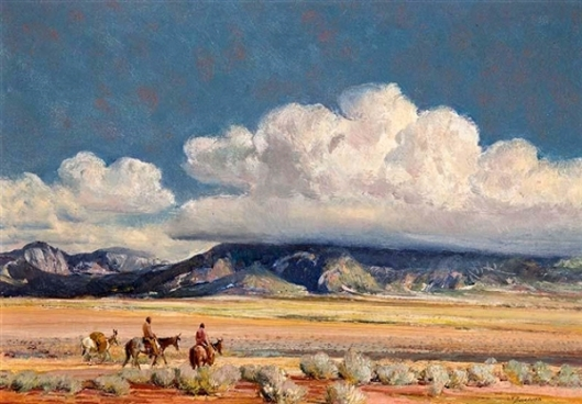 Storm Clouds Over Taos Mountains