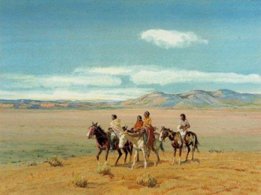 Traveling Pueblo Indians of Taos