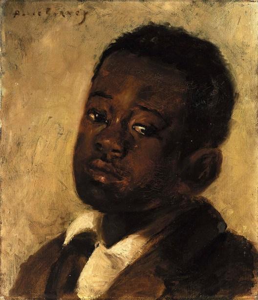 Head Of A Negro Boy