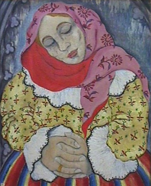 Peasant Woman At Prayer