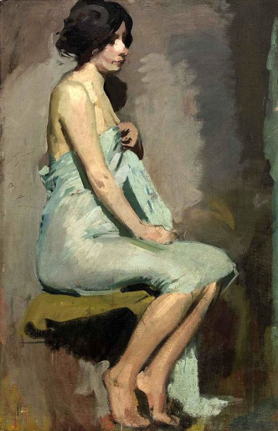 Study Of A Seated Woman