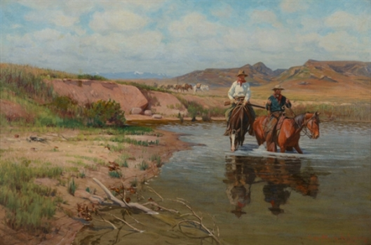 Fording The Bighorn