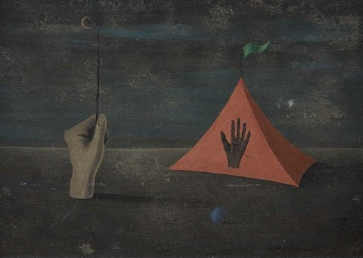 Hand And Tent