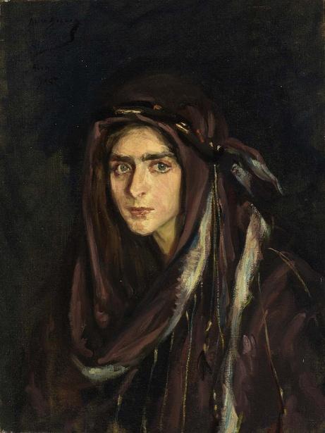 Laura In Arabian Costume