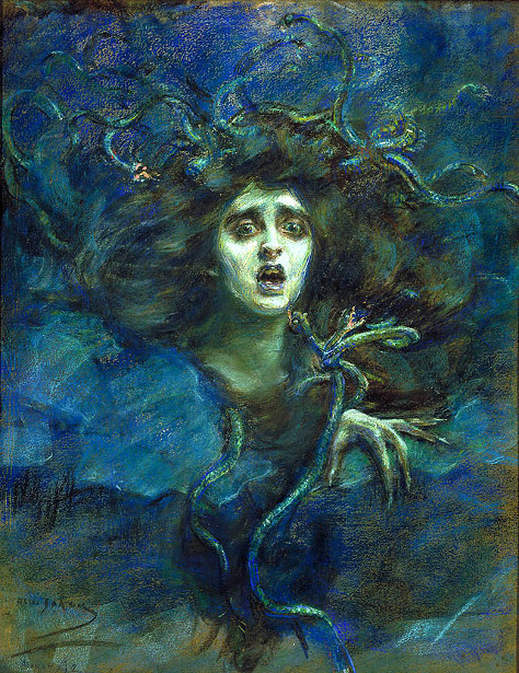 Medusa (Laura Dreyfus Barney)