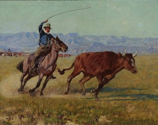 The Chase - Roping The Bull