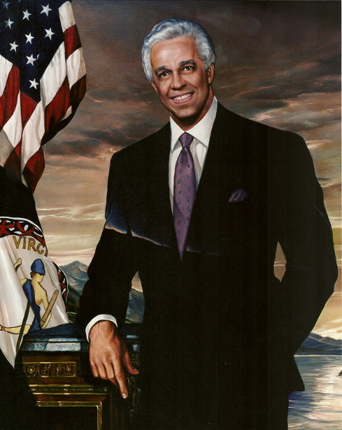 Governor L. Douglas Wilder Of Virginia