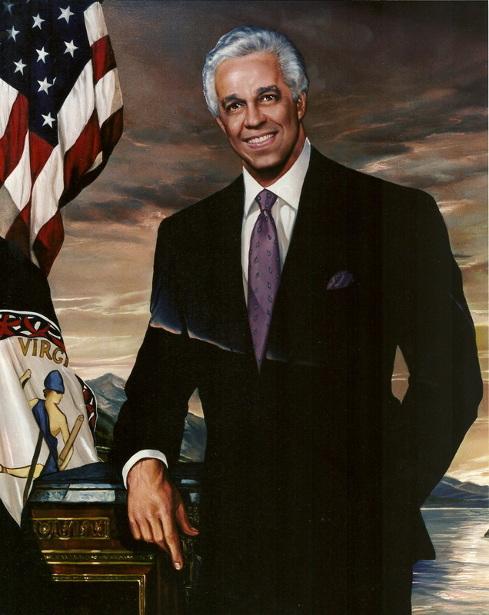 Governor L. Douglas Wilder Of Virginia