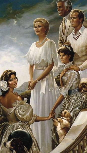Princess Grace And Prince Rainier Of Monaco With Sons Caroline, Albert and Stéphanie