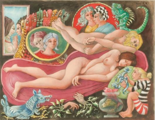 Sleeping Señorita Dreaming Of Love And Cosmetics