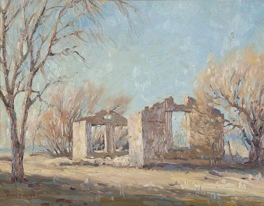 Adobe Ruin - Monterey Ruins