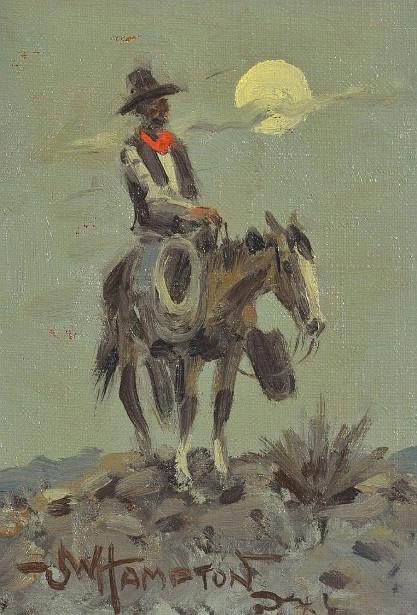Cowboy Au Clair de Lune