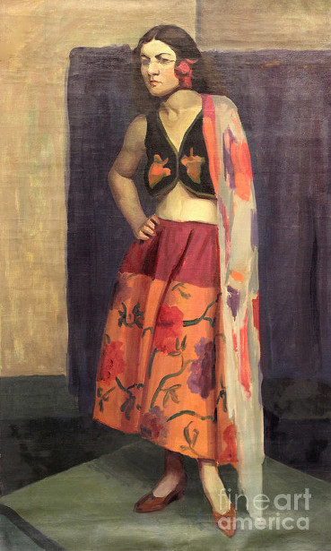 Gypsy With Shawl