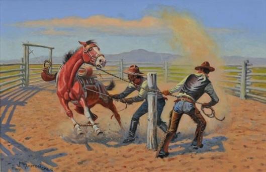 The Pull Of A Latigo