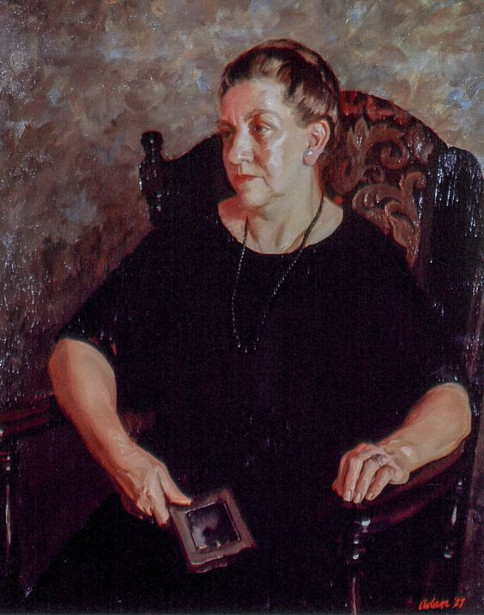 Marie Ellanora Dieckmann Adam (The Artist's Mother)