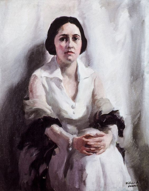 Portrait Of A Girl, Seated