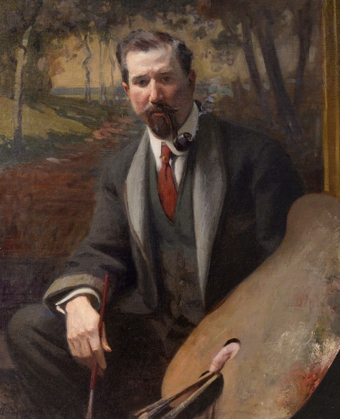 Portrait Of An Artist: Richard E. Miller