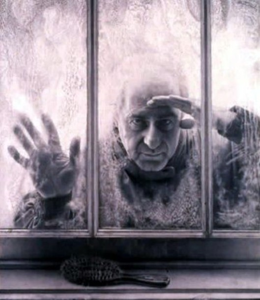 Self Portrait At Window