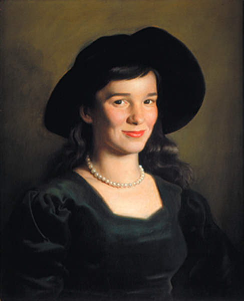 The Italian Hat (Katherine Lack, The Artist's Wife)