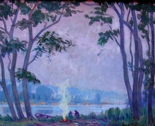 Twilight On The Huron River