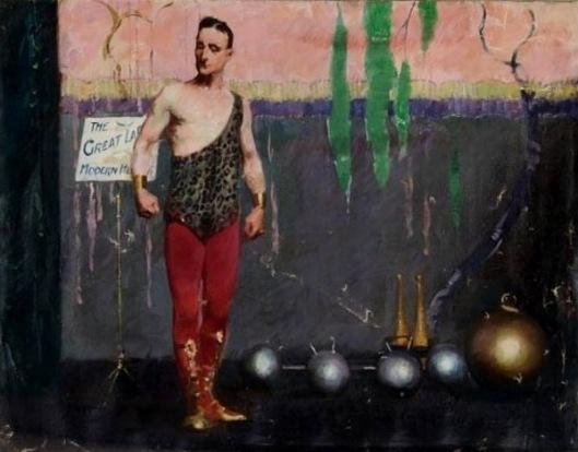 Vaudeville Strongman