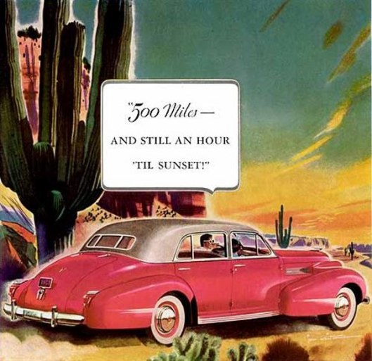 Cadillac - 500 Miles And Still An Hour 'til Sunset!