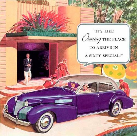 Cadillac - It's Like Owning The Place To Arrive In A Sixty Special!