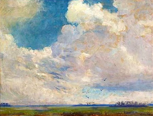 Clouds Over Marshes