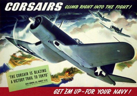 Corsairs Climb Right Into The Fight!