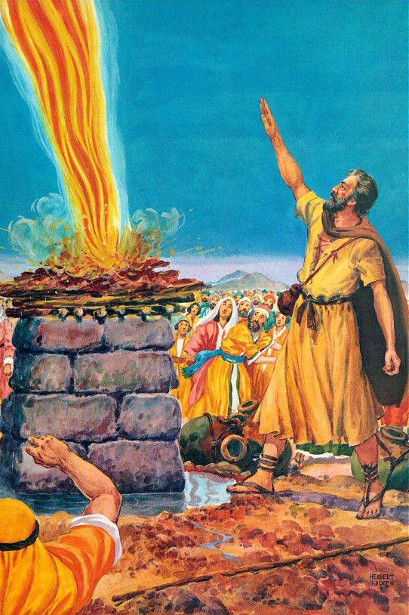 Elijah Calls Down The Fire Of God