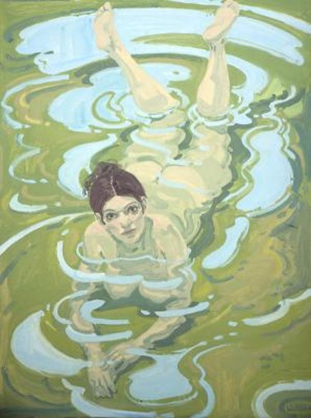 Figure In Water