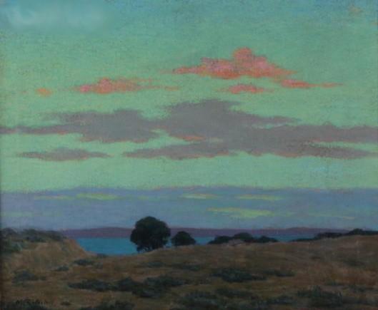 A Landscape During Sunset