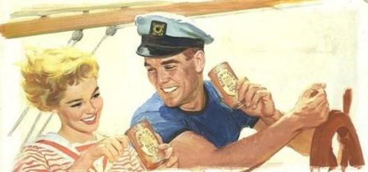 Ballantine's Beer ad