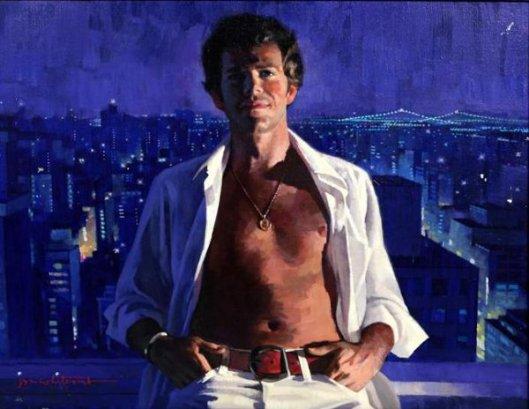 Portrait Over Manhattan