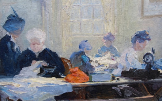 Concord Women Sewing
