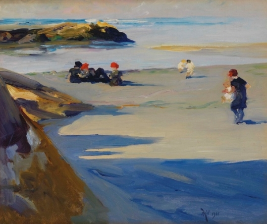Figures On The Sand, Annisquam