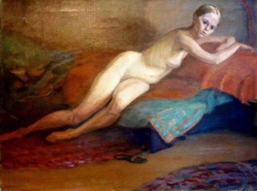 Nude Venus Disturbed