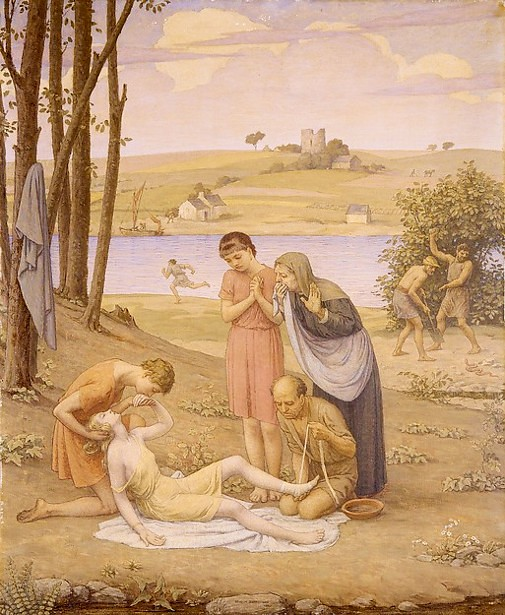 Eurydice Bitten By The Snake