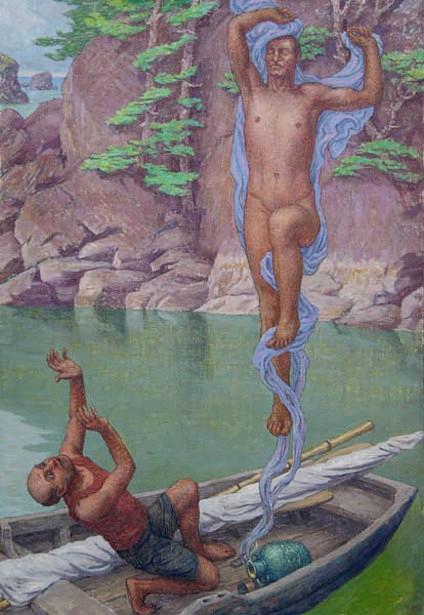 Fisherman And The Genie