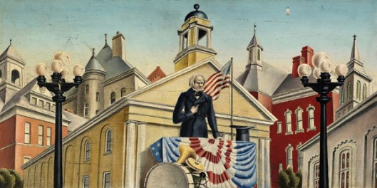 Henry Clay Making A Speech