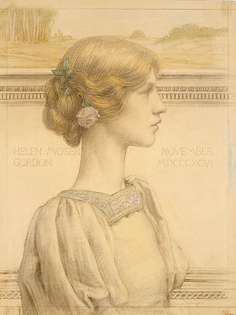 Mrs. Helen Moser Gordon, later Mrs. Ivanowski