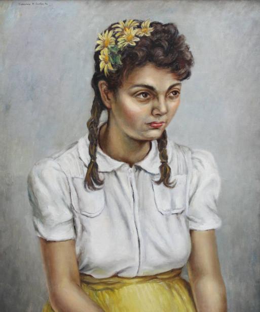 Pensive Girl - Phyllis