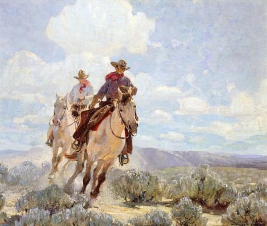 Riding The Range