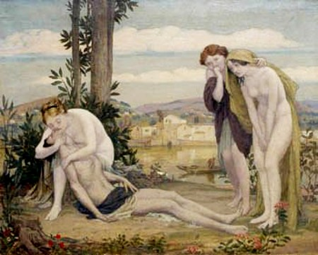 Venus And Adonis - The Death Of Adonis