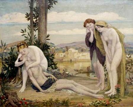 Venus And Adonis - The Death Of Adonis